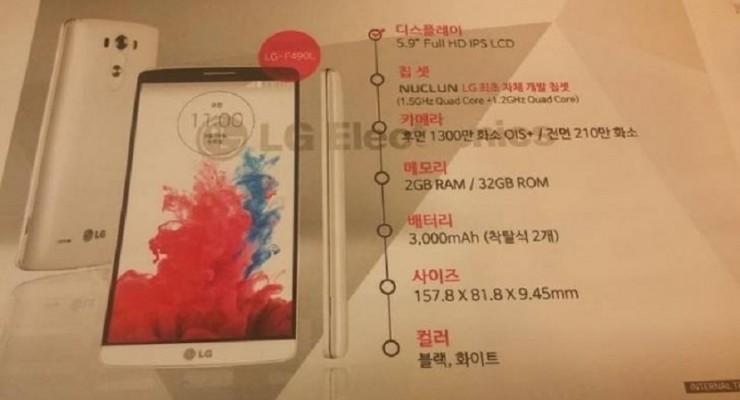 LG F490 L, el nuevo phablet en el que trabaja LG