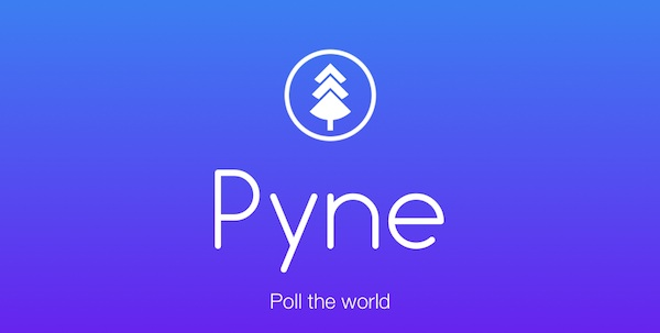 Crea encuestas públicas con Pyne para Android